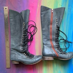Steve Madden Lace Up Combat Boots